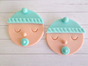 Lenas Cakes Baby Shower Toppers