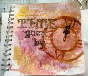 TIME journal page