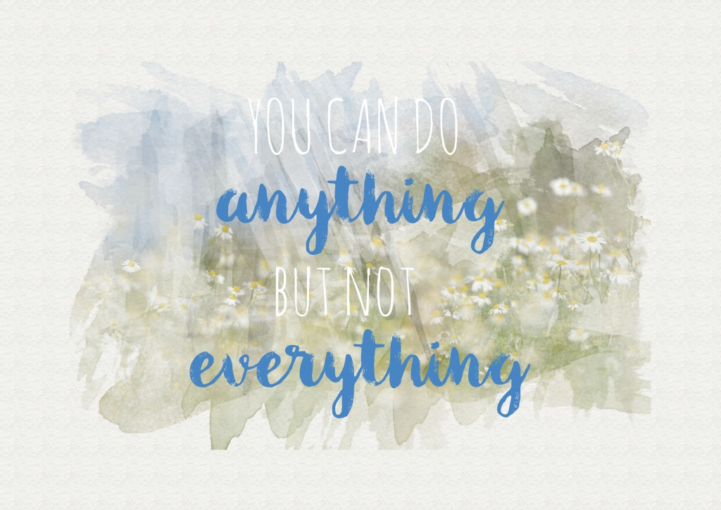 you can do anything printable
